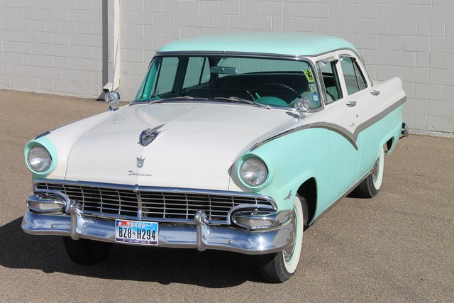 1956 ford crown victoria 4 dr for 1956 ford fairlane 4 door